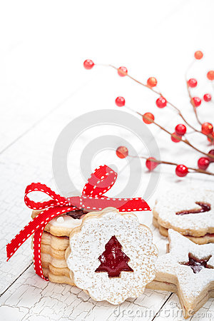 Free Christmas Cookies Stock Photo - 45212460