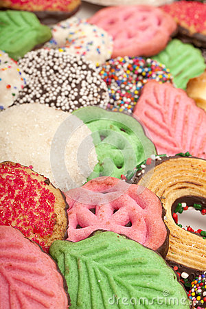 Christmas Cookies (closeup) Stock Photo - Image: 28367450
