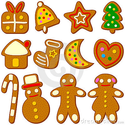 Free Christmas Cookies Collection Royalty Free Stock Photography - 11315987