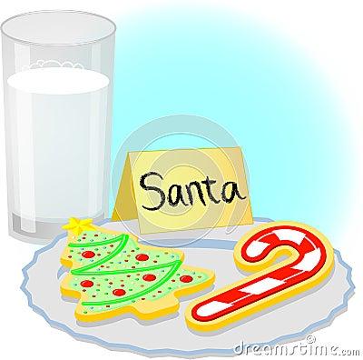 Christmas Cookies for Santa/eps