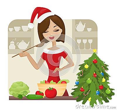 Free Christmas Cooking Stock Photos - 22135413