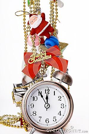 Christmas Countdown on Stock Image  Christmas Countdown   Alarm Clock And Christmas