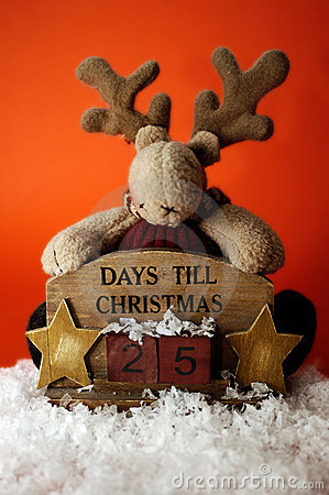 Free Christmas Countdown I Royalty Free Stock Photography - 311027