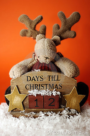 Christmas Countdown on Christmas Countdown Ii Royalty Free Stock Photos   Image  311028