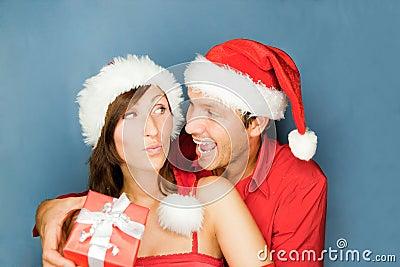 Christmas couple gift