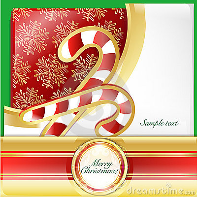 Christmas  crutches card