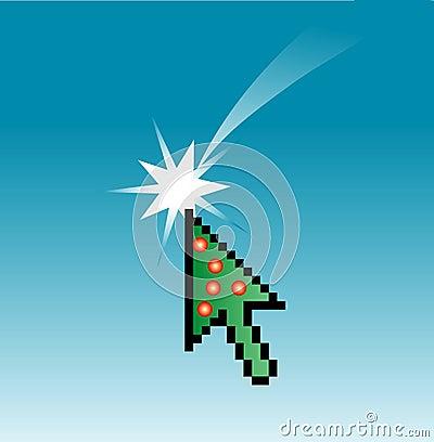 Christmas cursor