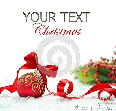 Free Christmas Decoration Stock Photo - 22419870