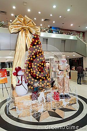 Christmas decoration Editorial Stock Image