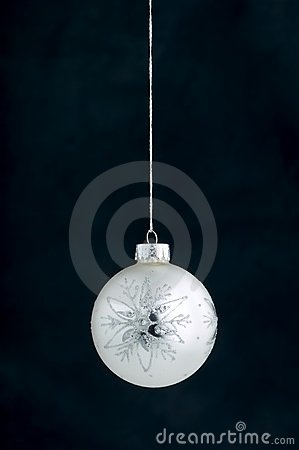 Christmas Decoration on blue