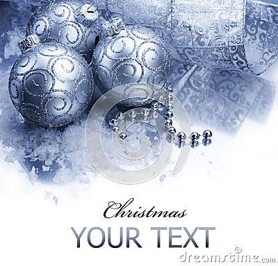 Free Christmas Decoration Border Stock Photo - 16628330