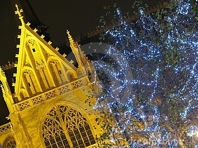 Christmas decoration in Brussels (Belgium)
