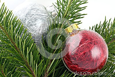 Christmas decoration bubbles