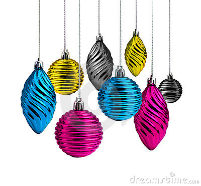 Christmas decoration cmyk