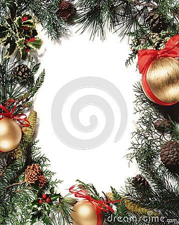 Free Christmas Decoration - Frame Royalty Free Stock Image - 346866