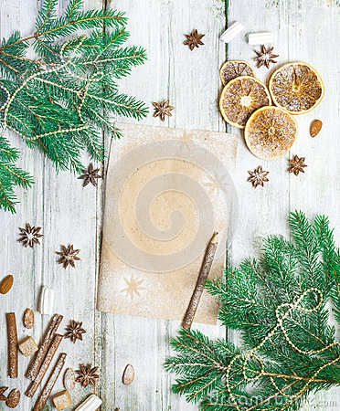 Free Christmas Decoration Frame Royalty Free Stock Photos - 81926908