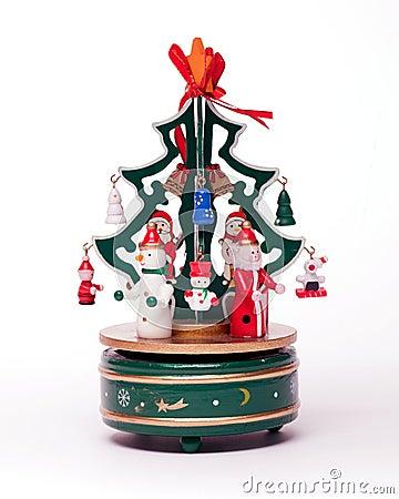 Free Christmas Decoration On White Stock Image - 17252451