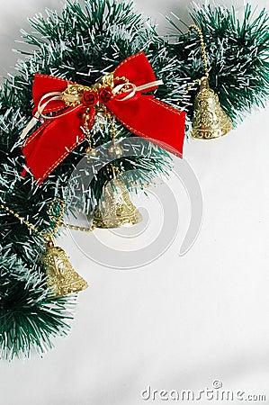 Free Christmas Decoration On White Background Stock Image - 390431