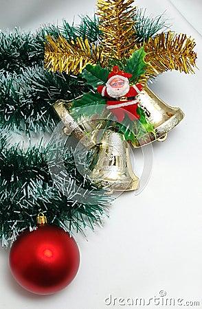Free Christmas Decoration On White Background Royalty Free Stock Image - 390436
