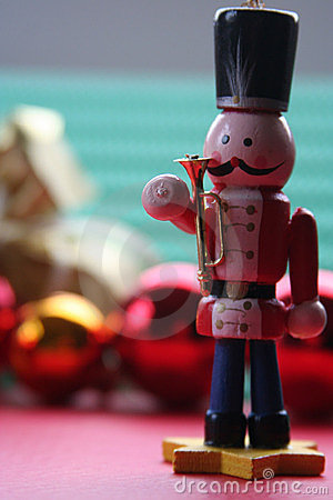 Christmas decoration: toy soldier