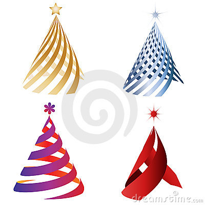 Christmas decoration trees