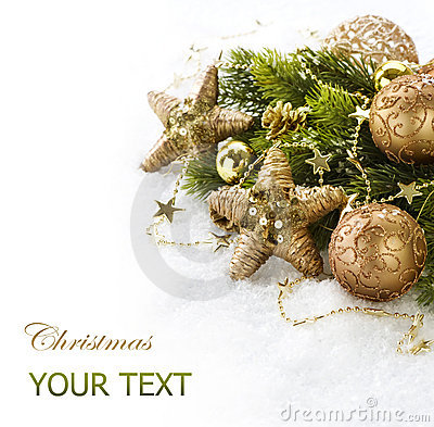 Free Christmas Decorations Royalty Free Stock Photos - 22337138