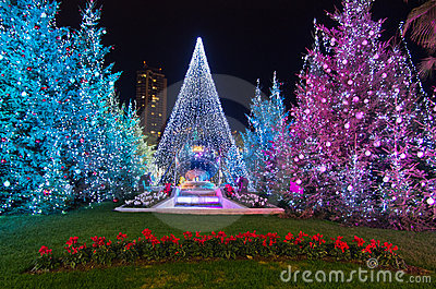 Christmas decorations in monaco montecarlo france for Art and decoration france
