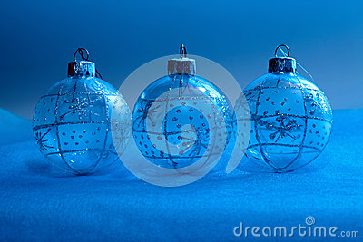 Christmas decorations in neon light