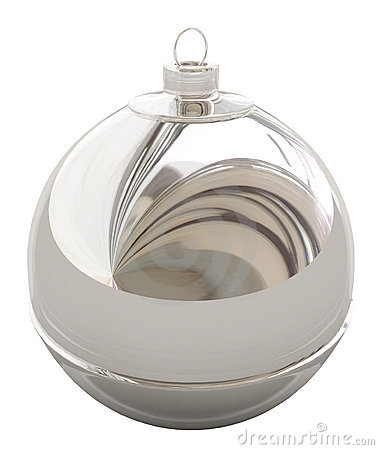 Christmas Decorations, Silver Ball
