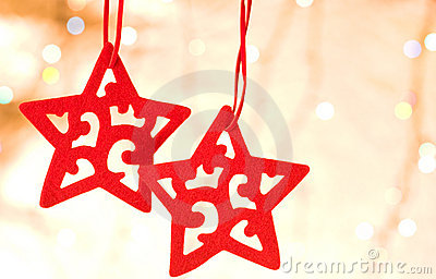 Christmas decorative star