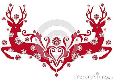 Christmas deer,