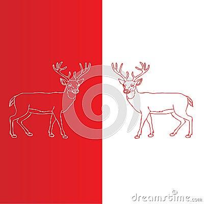 Christmas Deers.