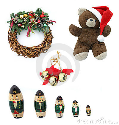 Free Christmas Design Elements Royalty Free Stock Images - 6273199