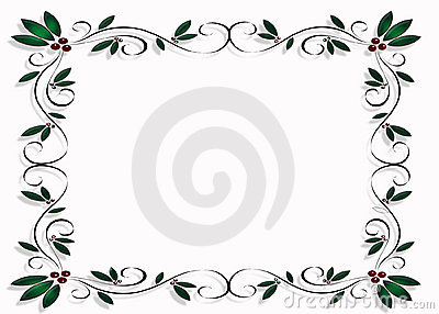 Christmas Design Frame or Border