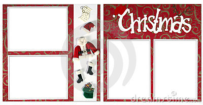 Christmas Digital Scrapbook Page