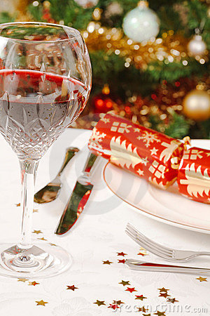 Free Christmas Dinner Royalty Free Stock Image - 16209146