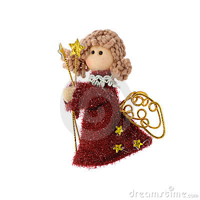 Free Christmas Doll An Angel Royalty Free Stock Images - 6598229