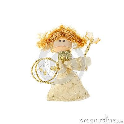 Free Christmas Doll An Angel Stock Image - 6598241
