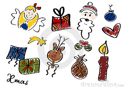 Christmas Doodles, Set II