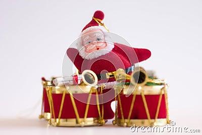 Christmas Drum & Santa Clause