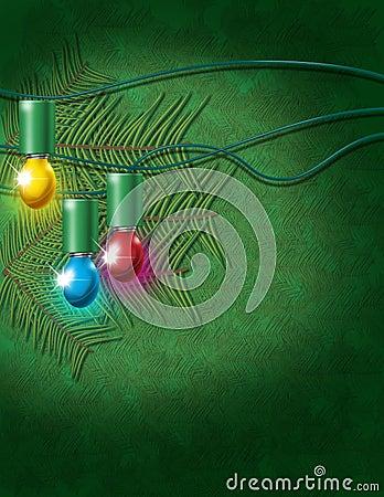 Christmas electric bulbs