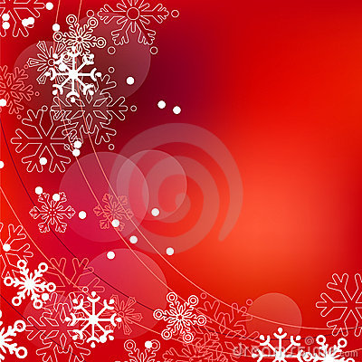 Christmas elegant red background