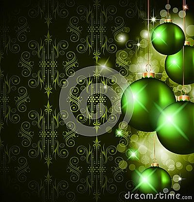 Christmas Elegant Suggestive Background
