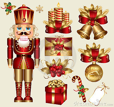 Free Christmas Elements Stock Image - 17104561