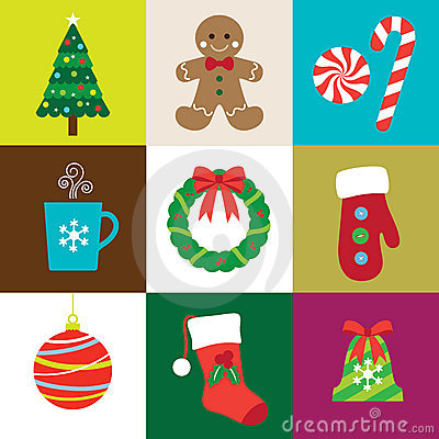 Free Christmas Elements Stock Images - 21373434