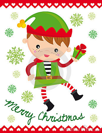Free Christmas Elf Royalty Free Stock Photos - 11844898