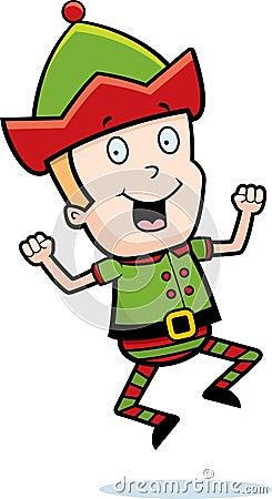 Christmas Elf Jumping
