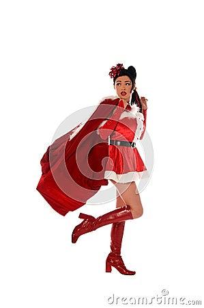 Christmas Elf Pinup