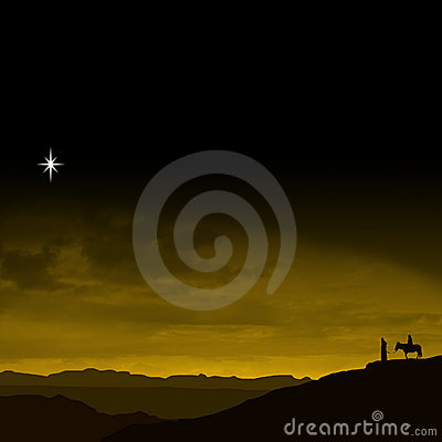 Free Christmas Eve Journey Royalty Free Stock Photos - 4975108