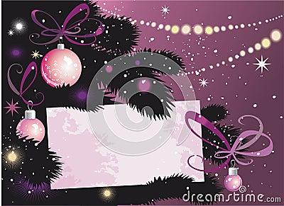 Christmas Eve Tree and card